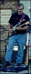 Your Blues Host Chucky K on Guitar, Bass & Vocals